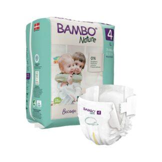 Bambo Nature 4 Fraldas 7-14kg 24 Unidades