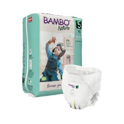 Bambo Nature 5 Cuecas Fralda 12-18kg 19 Unidades