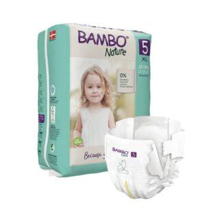 Bambo Nature 5 Fraldas 12-18kg 22 Unidades