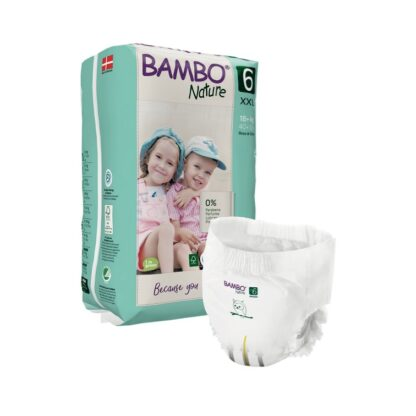 Bambo Nature 6 Cuecas Fralda 16+kg 18 Unidades