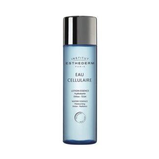 Esthederm Eau Cellulaire Lotion Essence 125ml, cuidado de rosto, pescoço e decote, hidratante, desintoxicante e iluminador