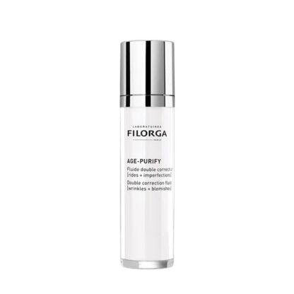 Filorga Age Purify Fluido é um fluido de dupla correção, que hidrata, matifica e protege a pele.