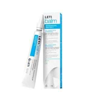 LETIbalm Intranasal Protect 15ml gel de alto poder hidratante para o cuidado e proteção diária da secura da mucosa nasal