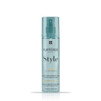 Rene Furterer Spray Termo Protetor 150ml, cuidado essencial para proteger os cabelos no calor até 220ºC, para todo o tipo de cabelos.
