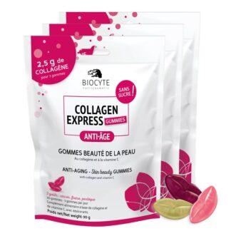 Biocyte Collagen Express 3x30 Gomas, oferece certamente uma nova abordagem para o cuidado da pele.