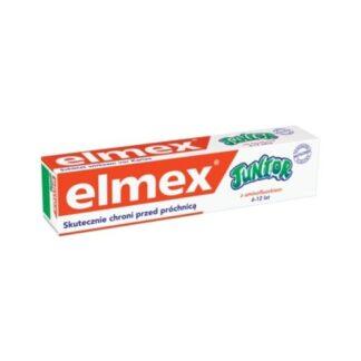 Elmex Júnior Pasta Dentes 75ml, pasta de dentes, indicada para a higiene oral de crianças entre os 6 e os 12 anos de idade.