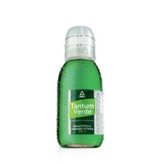 Tantum Verde Colutório 240 ml, medicamento indicado no tratamento de inflamações da garganta