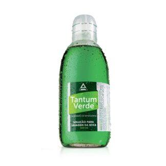 Tantum Verde Colutório 500 ml, medicamento indicado no tratamento de inflamações da garganta, boca e gengivasTantum Verde Colutório 500 ml, medicamento indicado no tratamento de inflamações da garganta, boca e gengivas