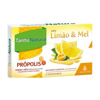 Tantunatura Pastilhas Limão e Mel 15 Unidades