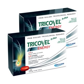 Tricovel Energy Hemem 30 Comprimidos, especificamente concebido para fornecer aos folículos capilares a quantidade certa de energia