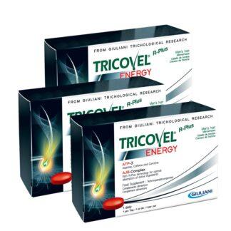Tricovel Energy Hemem 30 Comprimidos, especificamente concebido para fornecer aos folículos capilares a quantidade certa de energia, os comprimidos