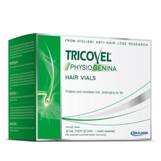 Tricovel Physiogenina 10 Ampolas é um tratamento inovador anti-queda capilar com Physiogenina