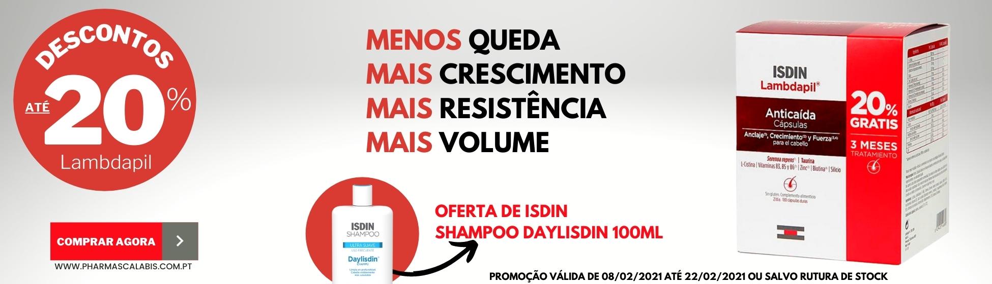 A ISDIN apresenta o tratamento mais completo e eficaz que atua sobre as causas da queda do cabelo.