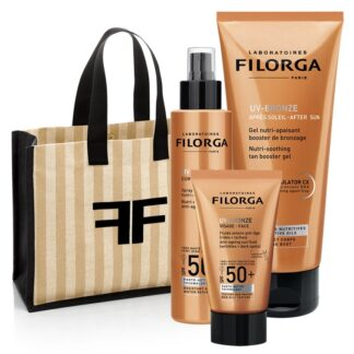 Filorga UV-Bronze Pack Face SPF50 + Gel After Sun + Spray Corpo