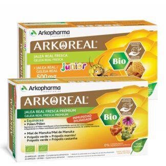 Arkoreal Geleia Real Pack Imunidade Familia