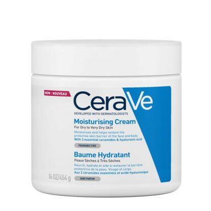 CeraVe Moisturizing Creme Hidratante Diário, creme Hidratante para rosto e corpo, protege e hidrata a pele.