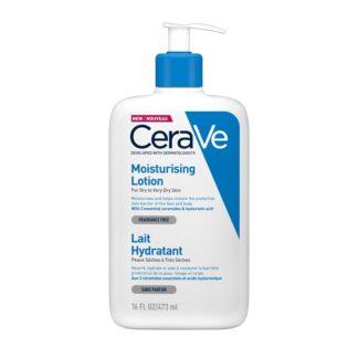 CeraVe Moisturizing Loção Hidratante 473ML loção Hidratante para rosto e corpo, hidrata e protege a pele.