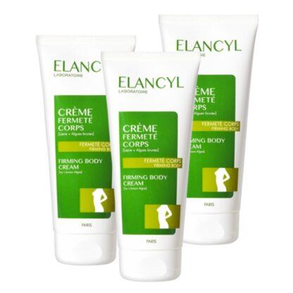 Elancyl Creme Firmeza Corpo 200ml, creme que confere firmeza à pele do corpo, indicado como cuidado refirmante ou após perda súbita de peso.