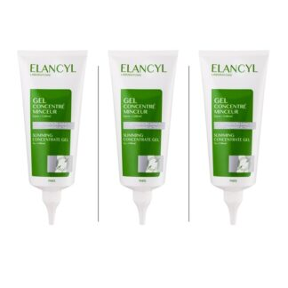 """Elancyl Slim Massage Gel Adelgaçante 200 ml 1º acessório de massagem patenteado* por Elancyl Laboratoire, inspirado diretamente na técnica profissional de """"Amassar-Rolar""""."""