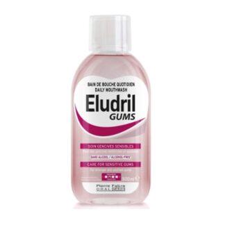 Eludril Gums Colutório 500ml, protege as gengivas sensíveis