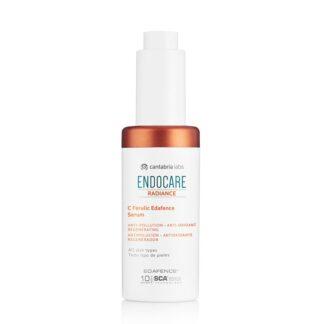 Endocare Radiance C Ferulic Edafence Serum 30ml, serum de rápida absorção que protege a pele dos danos causados pelos estressores ambientais