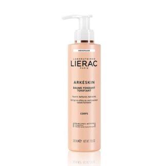 Lierac Arkéskin Bálsamo Fundente Tonificante 200ml,corrige os sinais da menopausa na pele: ressecamento e perda de firmeza.