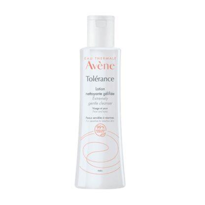 Avéne Tolérance Loção de Limpeza Gelificada 200ml, loção de limpeza para pele sensível a reactiva.