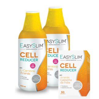 Easyslim Celulite Reducer 2x500ml - Oferta Cell Reducer 30 Comprimidos