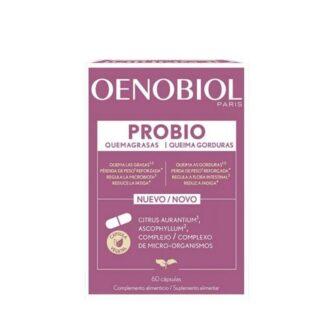 Oenobiol Probio Queima Gordurasé um suplemento alimentar que contribui para reduzir as gorduras acumuladas e o peso.
