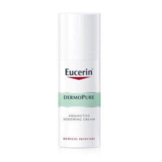 Eucerin Dermopure Cuidado Hidratante Coadjuvante 50ml, apazigua e hidrata intensamente a pele sujeita a tratamento médico para a acne