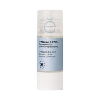 Etat Pur Vitamina E 3.93% Ativo Puro 15ml, um poderoso reforço antioxidante para proteger a pele das agressões do quotidiano e prevenir o seu envelhecimento