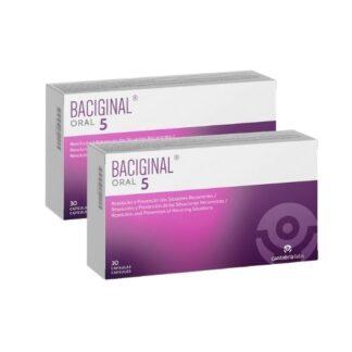 Baciginal Oral 5 - 2x30 Cápsulas, as alterações da flora vaginal fisiológica contribuem frequentemente