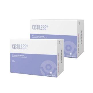 Cistiless 2x20 Sticks, Suplemento alimentar especificamente desenvolvido para o conforto