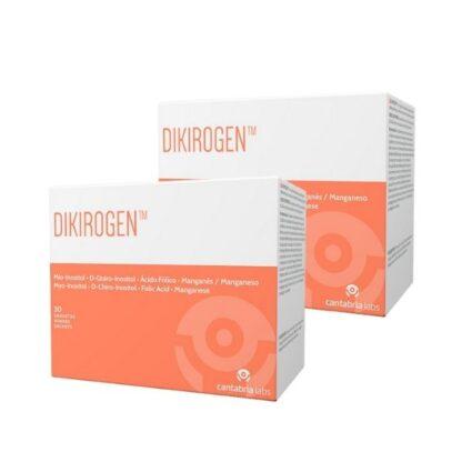 Dikirogen D Plus 30 Saquetas apresenta numa única toma diária, uma fórmula única e inovadora