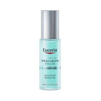 Eucerin Hyaluron-Filler Moisture Booster 30ml,um gel refrescante que reforça a hidratação da pele de imediato e aumenta a sua hidratação até 24 horas após a aplicação