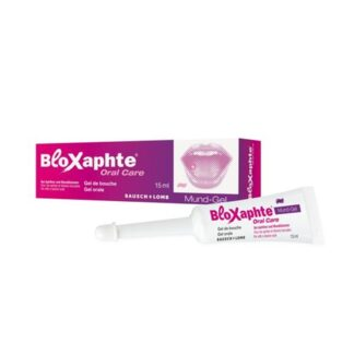 Bloxaphte Gel Bucal Adultos 15ml, ogel bucal BloXaphte Oral Care para adultos é adequado para o tratamento direcionado de aftas