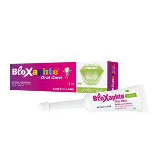 Bloxaphte Gel Bucal Júnior 15ml,o gel bucal BloXaphte Oral Care para crianças a partir dos 30 meses é adequado para o tratamento